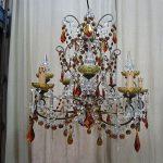 restauro lampadario completo