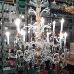 completamento restauro lampadari firenze via del gelsomino