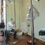 restauro lampadario antico fase impianto elettrico