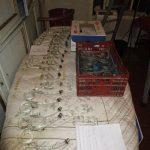 restauro lampadario fase di smontaggio completo e stima delle parti