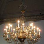 operazioni completate su restauro lampadario firenze via del gelsomino