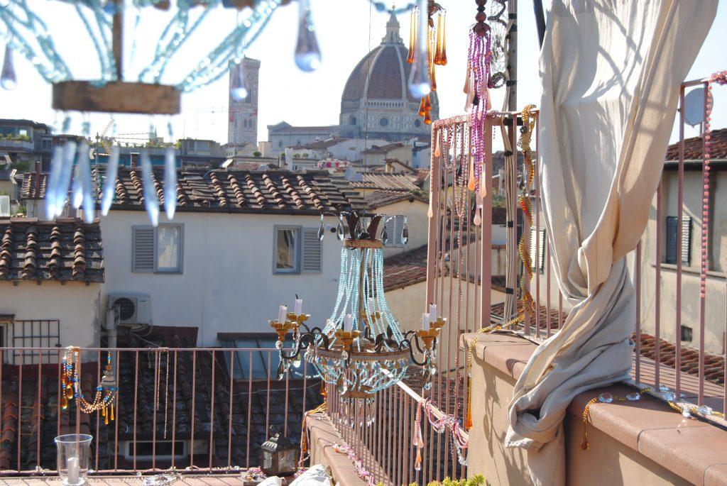 VintArt installazioni    Firenze sui tetti
