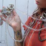 VintArt   collezione cinture cristallo