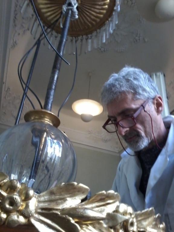 restauro lampadari antichi